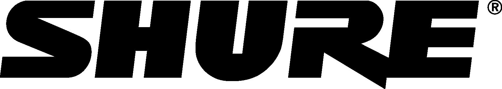 Shure-Logo-without-Tagline_Black
