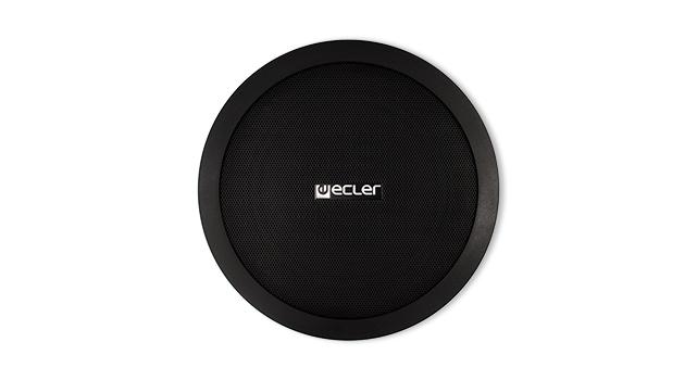 Ecler-in-ceiling-loudspeaker-IC6BK-front-grill-lr5