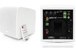 Outdoor Loudspeaker Cabinet Front lr