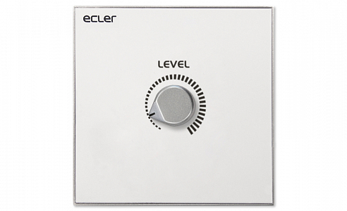 Ecler_WPaVOL_Remote_Wall_Panel_Control_Front