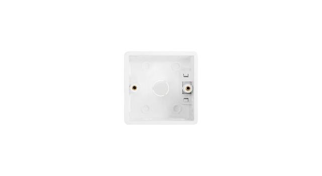 Ecler eWAMPBTFBOX Flush-mount Box Front lr6